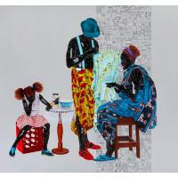 Eddy Kamuanga Ilunga, Fragile 5,  2018. Edition of 25.